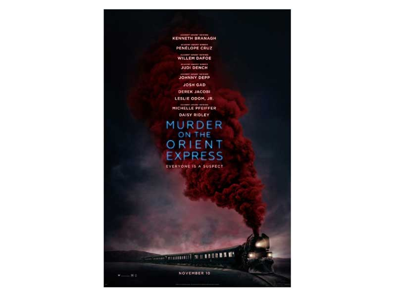 Murder on the Orient Express starring Johnny Depp