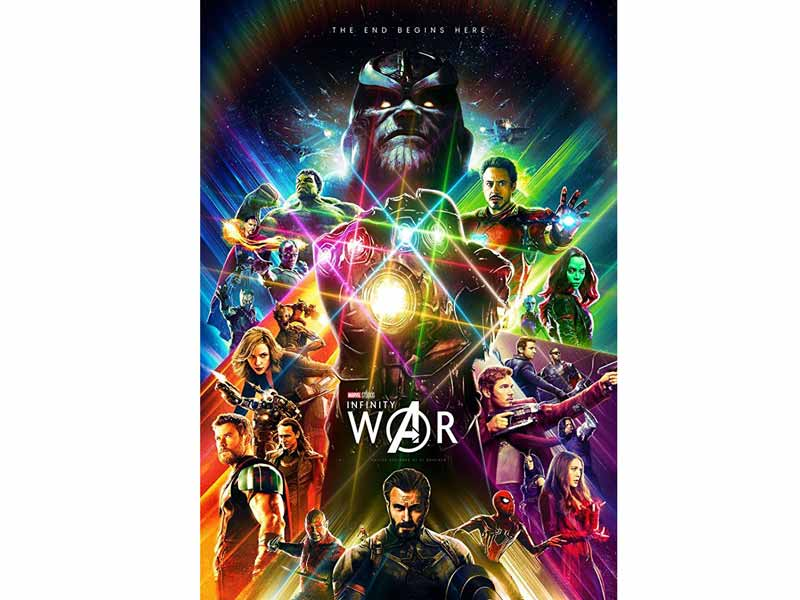 Watch Avengers: Infinity War at Vox Cinemas in Ajman