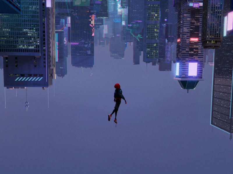 Watch Spider-Man: Into The Spider-verse at VOX Cinemas across the Middle East