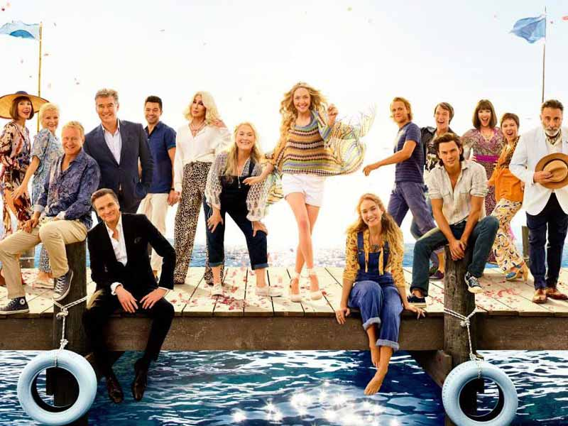 Watch Mamma Mia! Here We Go Again at VOX Cinemas across the Middle East