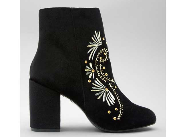363dab253370e Velvet ankle boots by New Look available at City Centres