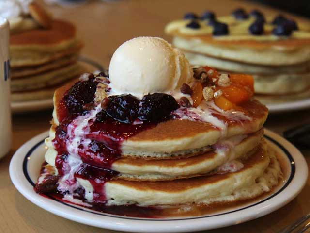 IHOP serves some of the best pancakes in Dubai and Bahrain