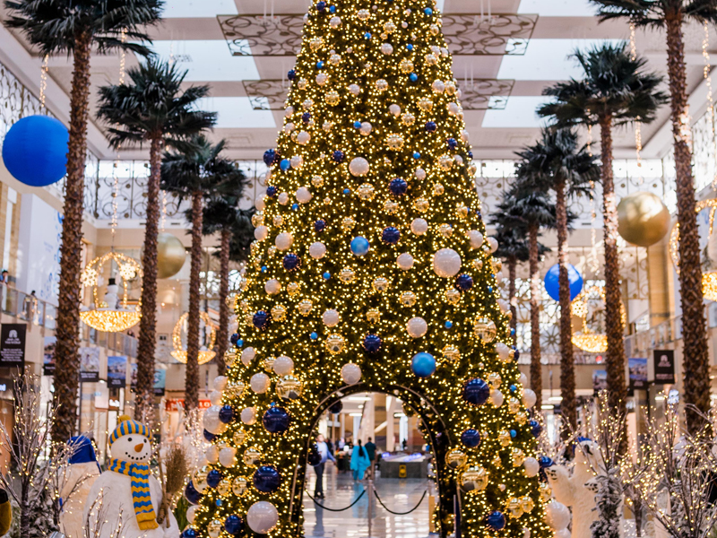 Festive feels at the shopping malls in Dubai